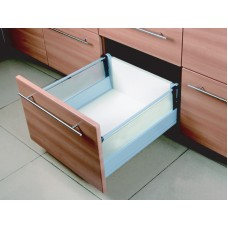 14 Inch DOUBLE WALL UNDER MOUNT SOFT CLOSE FULL EXT. SLIDE GLASS 6.350DG