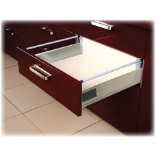 14 Inch STAINLESS STEEL DOUBLE WALL UNDER MOUNT SOFT CLOSE SINGLE RAILING 6.350DRSS