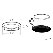 3 .5 Inch ROUND COFFEE CUP HOLDER 6135