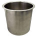 "6"" X 6"" POLISHED STAINLESS STEEL TRASH GROMMET 6143-679"