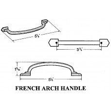 96 m.m. FRENCH ARCH PULL 2854