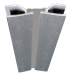 "6"" or 150mm Aluminum Foiled 0º-180º Flexible Corner Bracket - 5180-150"
