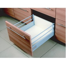 18 Inch DOUBLE WALL UNDER MOUNT SOFT CLOSE FULL EXT. SLIDE 2 RAIL 6.450DR2