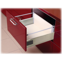 20 Inch STAINLESS STEEL DOUBLE WALL UNDER MOUNT SOFT CLOSE DOUBLE RAILING 6.500DR2SS